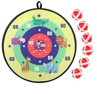 Board Games For Kids, Dart Board For Kids With 6 Sticky Balls, Darts Board Set With Hook, Safe & Classic Toy Gift For Boys Girls Ages 3-year-old And U