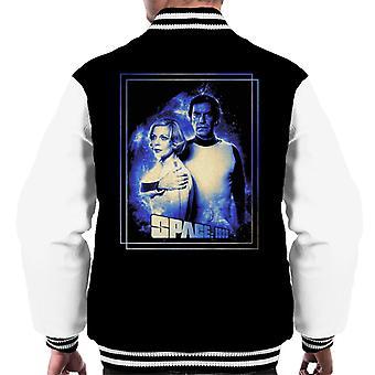 Space 1999 Helena Russell And John Koenig Men's Varsity Jacket