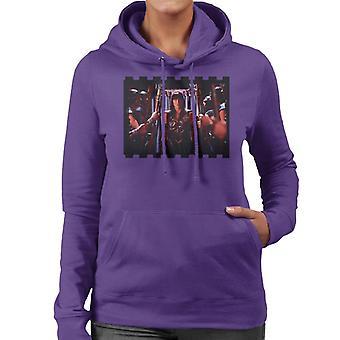 Xena Warrior Princess och hennes soldater Kvinnor's Hooded Sweatshirt