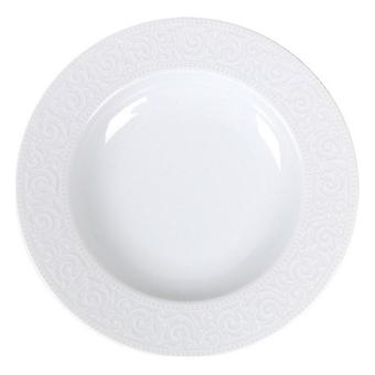 Deep Plate Santa Clara Atlantica Porslin Vit ( 22 cm)