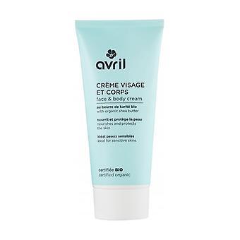 Organic Facial and Body Cream 200 ml of cream