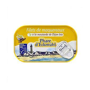 Makrillifileet Dijon-sinappilla 113 g