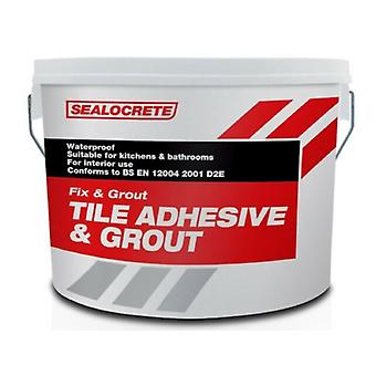 Sealocrete Fix and Grout Tile Adhesive and Grout Handy
