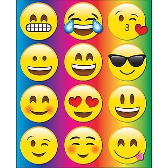 Die-Cut Magnetic Emojis, 12 Pieces