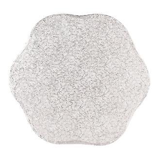 """10"""" (254mm) Cake Board Petal Silver Fern - single"""