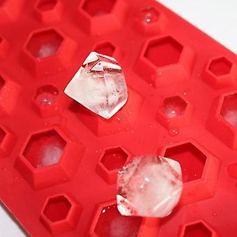 3d Diamanten Gem Cool Ice Cube / chocolade / zeep Tray