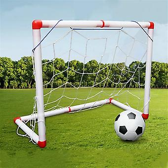 Sports Football Toy 126cm Large Single Door Indoor and Outdoor Soccer Goal Ball Pump Children's Sports Exercise Toy