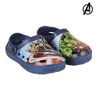 Sandały plażowe avengers 72404 niebieski