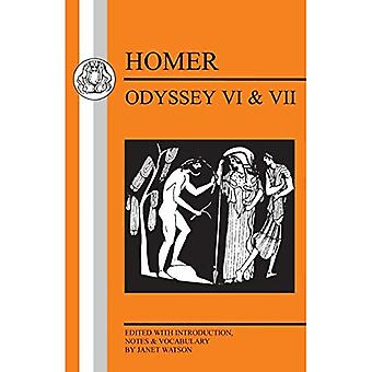 Homer: Odyssey VI and VII: Bk.VI and VII (Greek texts series)
