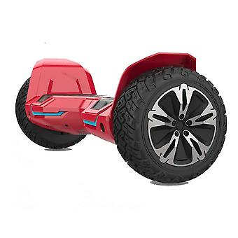 """NEW - G2 PRO- 8.5"""" All Terrain Red Hummer Monster Segway Hoverboard"""