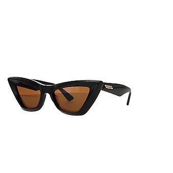 Bottega Veneta BV1101S 004 Brown/Brown Sunglasses