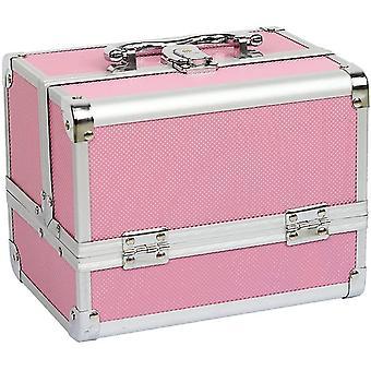 HBF Schminkkoffer und Trolley Kosmetikkoffer fr Damen Auswahlen Farben, Gre und Design aus Aluminium