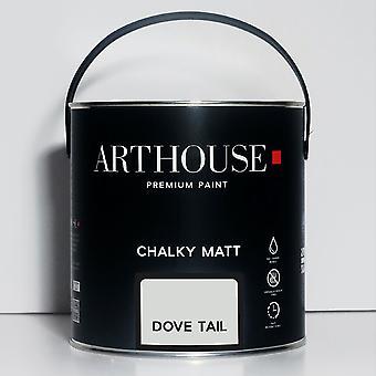 Krijtachtige Matte Verf 2.5l Dove Tail Arthouse 1211