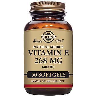 Solgar Vitamiini E 400 ui 268 mg Kapselit