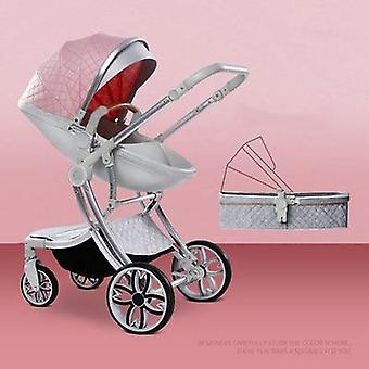 Portable Baby Stroller, High Landscape Carriage, Cart Wheels