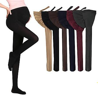 Women Pregnant Socks Maternity Hosiery Solid Stockings Tights Pantyhose Spring