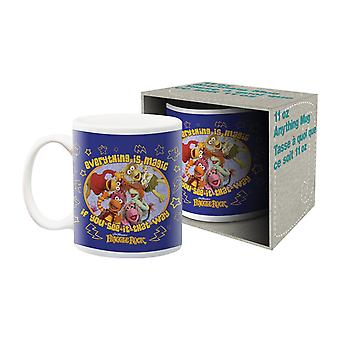 Fraggle rock ceramic mug