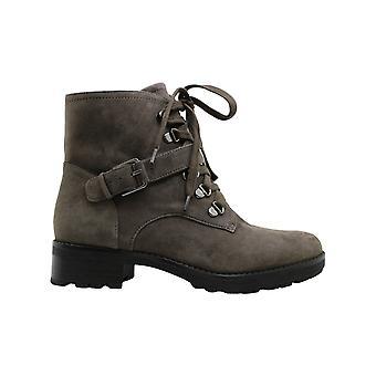Giani Bernini Womens Naomii lug Leather Closed Toe Ankle Fashion Boots