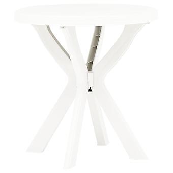 vidaXL Bistro Table White .