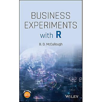 Business Experiments with R by B. D. McCullough