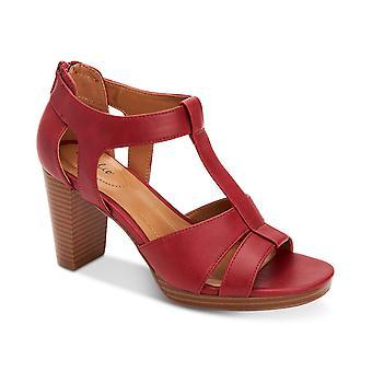 Style & Co Womens Ophelia Block-Heel Udskæring Sandaler