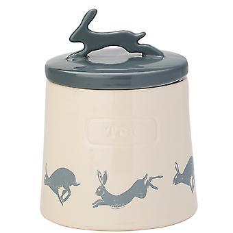 English Tableware Co. Artisan Hare Tea Canister