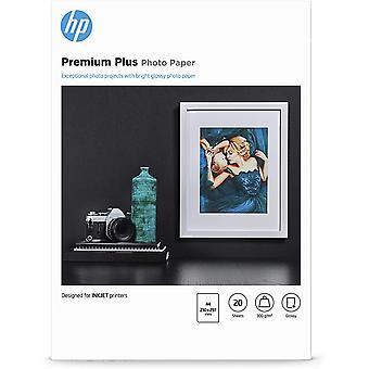 Premium Plus-Fotopapier, glänzend, 300 g/m2, DIN A4, 20 Blatt