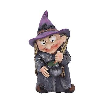 Double Double Witch and Cauldron Figurine