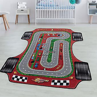 Children's room carpet GAME short pile children's carpet play carpet racetrack car