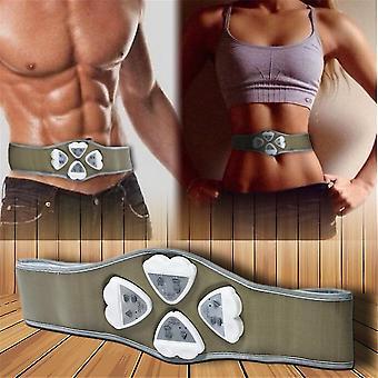 Ab Gimnasia Gimnástica Body Building Abs Cinturón Ejercicio Tonificación Pérdida de grasa muscular