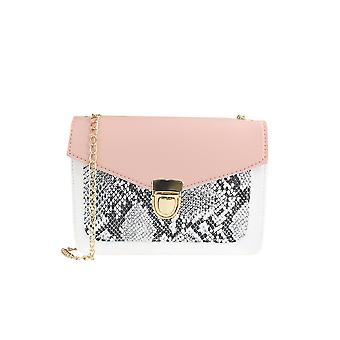 Chain Bag With Snake Flap