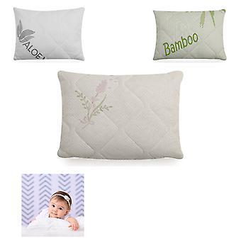 Lorelli bebé almohada acogedora tamaño 38 x 29 cm silicona abajo cubierta de llenado extraíble