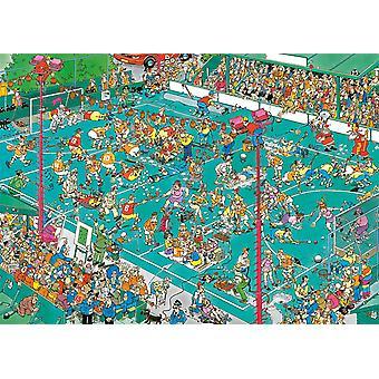 Jan van Haasteren Hockey Championships Jigsaw Puzzle (1000 Pieces)