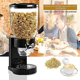 Cereal Dry Food Dispenser Storage Container Dispense Kitchen Machine For Gift