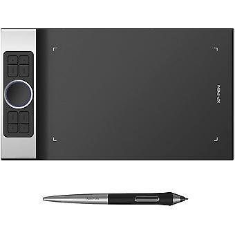 Deco Pro Medium 15x8 Zoll Grafiktablett Pen Tablet Mobiles Grafiktablett 7mm Dicke mit 8