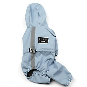 Dog Clothes, Waterproof And Breathable Reflective Clothes, Pet Raincoats, Pet Supplies