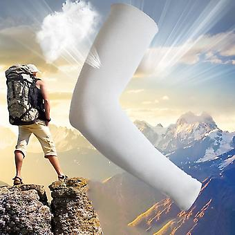 Spandex Nylon Cooling Arm Sleeves Anti-uv Sunscreen Outdoor Climbing Arm Cover