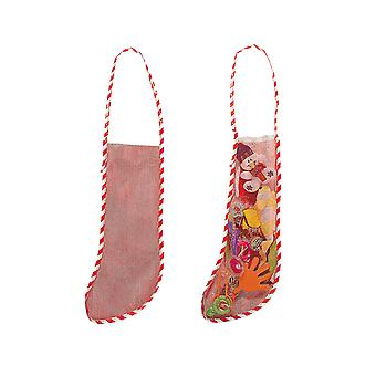 10 30cm Empty Mesh Style Christmas Pet or Toy Stockings to Fill