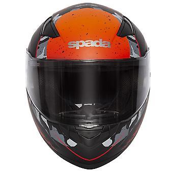Spada Raiden Casco de motocicleta Camo / Naranja