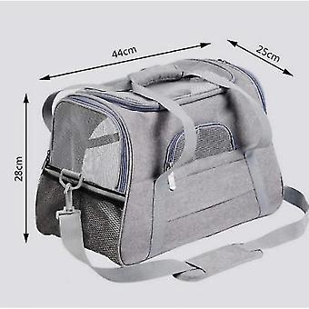 Pet Travel Bag Multifunctional Foldable Pet Bag Easy To Carry Pet Bag(Grey)