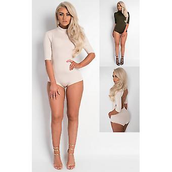 IKRUSH Womens Maile Scoop Back Bodysuit