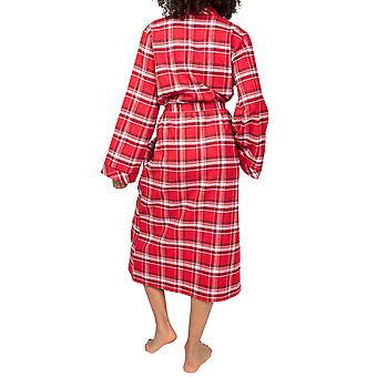 Cyberjammies Robyn 4986 Vestido de vestir de algodón de color rojo rojo para mujer