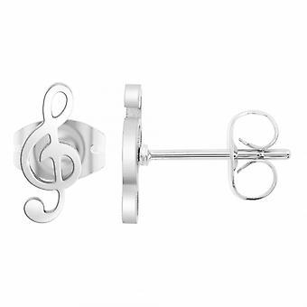 Boucles d'oreilles Ang�le M - B2322-ARGENT Acier Argent
