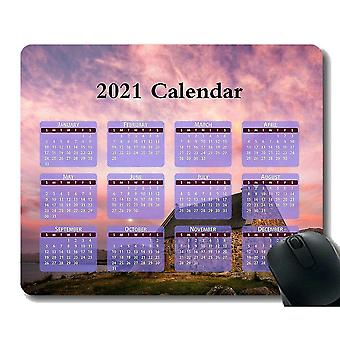 Keyboard mouse wrist rests 300x250x3 calendar for 2021 years gaming mouse pad custom sunset lake stone mouse pad with