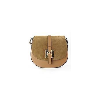 Vera Pelle Chlebak Zamsz Camel VP116C everyday  women handbags