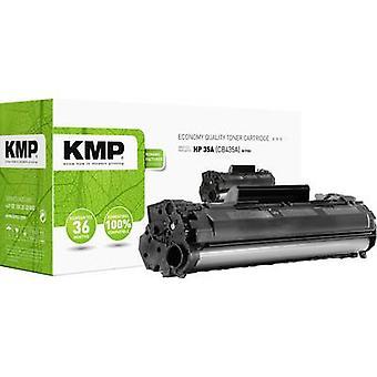 El cartucho de tóner KMP H-T153 reemplazó al cartucho de tóner compatible con HP 35A, CB435A Negro 1500 lados