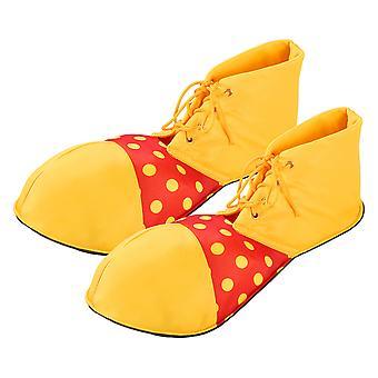 Luoem Large Clown Shoes Dot Halloween Costume Clown Shoes For Women Men (one Size)