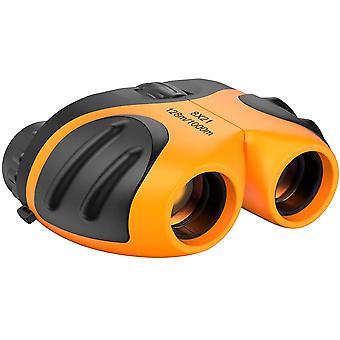 8x21 Crianças Compact Shockpieces Presente de Natal Compacto para Crianças Laranja