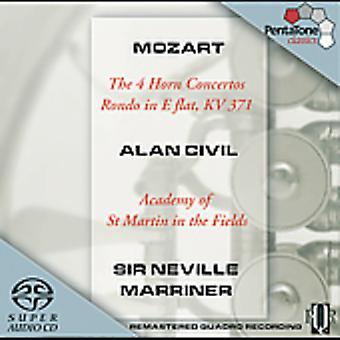W.a. Mozart - Mozart: The 4 Horn Concertos; Rondo in E Flat [SACD] USA import