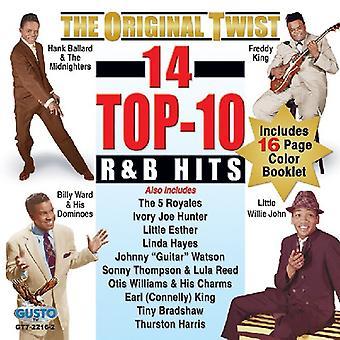 Original R&B superior giro 14 Hits - Original Twist 14 Top R&B Hits [CD] USA importar